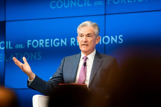 © Bloomberg. Jerome Powell in New York on June 25. Photographer: Cate Dingley/Bloomberg