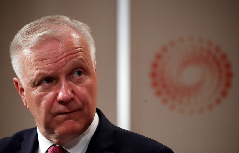 © Reuters. Governor of the Bank of Finland, Olli Rehn attends a Reuters Newsmaker event in London