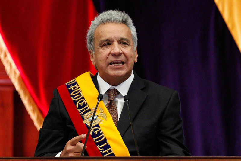 Ecuador to join market-friendly Pacific Alliance under Moreno By Reuters