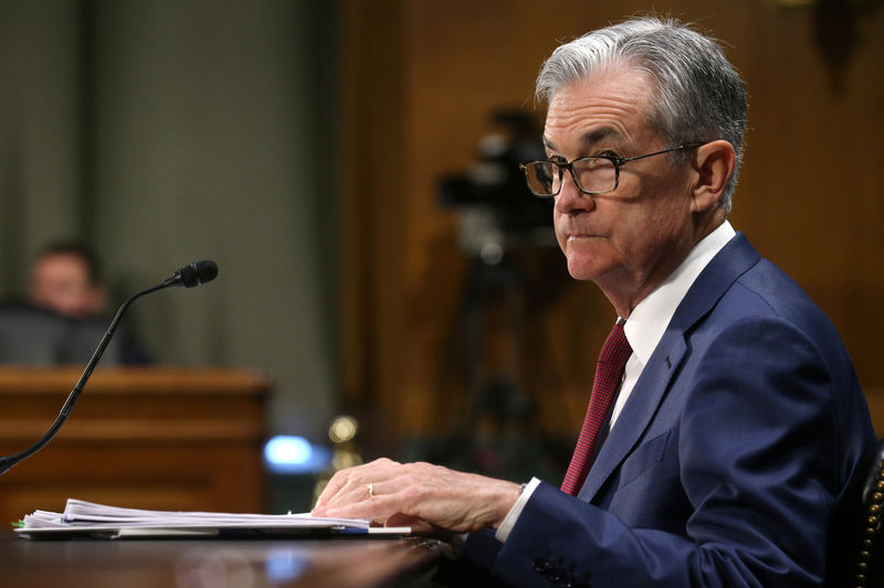 Fed's Powell reiterates pledge to act appropriately to support U.S. economy By Reuters