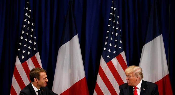 © Reuters.  French Defiance to Trump on Digital Tax Casts Shadow Over G-7