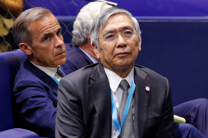 Kuroda says BOJ will debate policy this month on view economy on growth path By Reuters