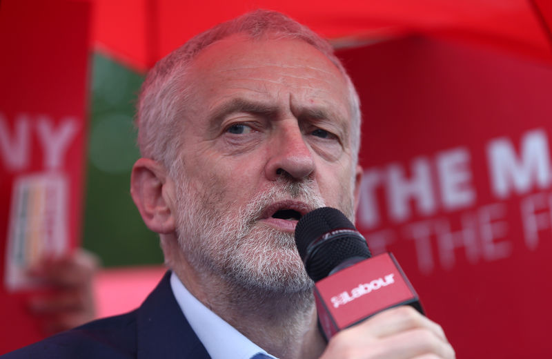 Labour's Corbyn calls for investigation over report he is 'too frail' to be UK PM By Reuters