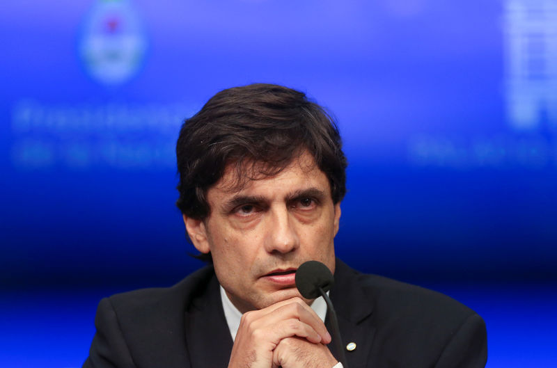 Argentina Treasury Minister defends use of central bank reserves: local media By Reuters