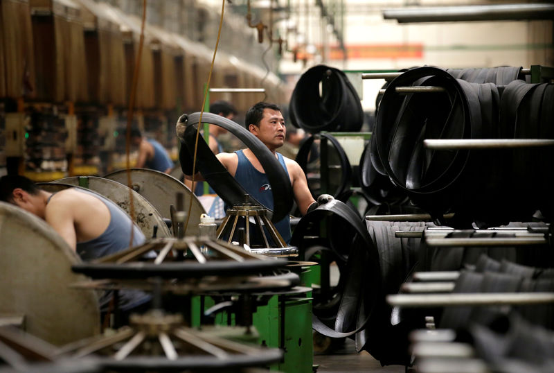 China's July industrial profits swing to growth but outlook clouded By Reuters