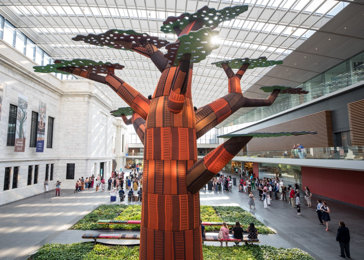 How a Tree Grew in the Ames Family Atrium: Artist Emeka Ogboh on Ámà: The Gathering Place