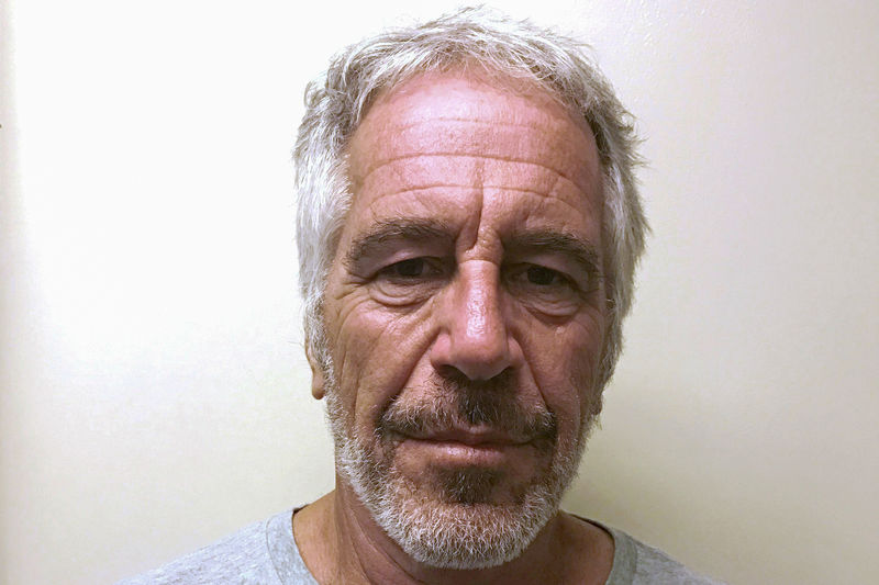 © Reuters. FILE PHOTO: Jeffrey Epstein appears in a photo taken for the NY Division of Criminal Justice Services